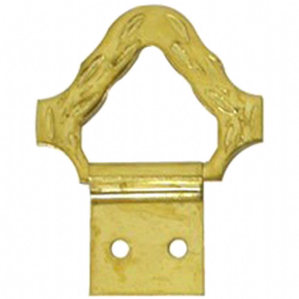Wreath Top Hanger - Brass Plated (32mm)